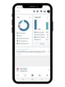 Mobile Dashboard Screenshot